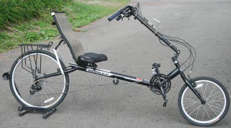 Sun EZ-1 Recumbent Bike - Bicycle Man