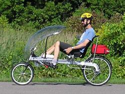 Adaptive Bicycle Man