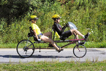 Tandem Recumbent Bicycle Bicycle Model Ideas